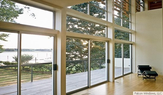 Aluminum replacement windows are a specialty of Falcon Windows LLC