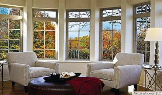 Vinyl replacement windows are a specialty of Facon Windows LLC